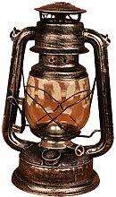 Retro Öllampe/Petroleumlampe, 28 cm alte