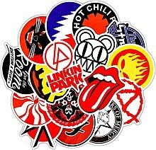 Retro Rock Band Music Pack Classic Fashion Style