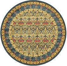 Retro Runde Teppiche für Wohnzimmer Schlafzimmer