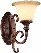 Retro Schmiedeeisen Wandlampe Führte Wohnzimmer