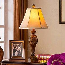 Retro Schreibtischlampe Schlafzimmer Nachttischlampe Einfache kreative Dekoration-Wohnzimmer-Lampen