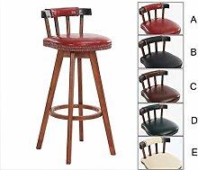 Retro-Stil Swivel Hochstuhl, Bar Lounge Stühle,