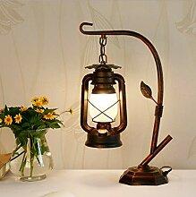 Retro Tischlampe Chinesische Laterne Alte Öllampe