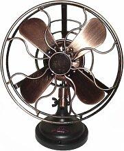 Retro-Ventilator im Design der 20er Jahre, oszillierend um 45°