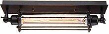 Retro Vintage Längeform Deckenleuchte 1 Flammig