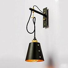 Retro Vintage Wandlampe Industrie Kreativ Mit