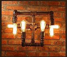 Retro Wandlampe Industrielle Pfeife Licht Kreative