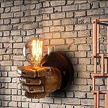 Retro-Wandlampe industrieller