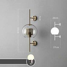Retro- Wandlampe, Industriestil,