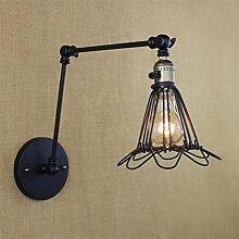Retro Wandlampe Metall Vintage Industrie Vintage