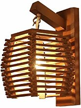 Retro Wandlampe Vintage Wandlampe Holz Mauer Lampe