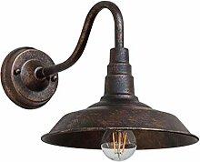 Retro Wandleuchte Außen Innen Industrie Wandlampe