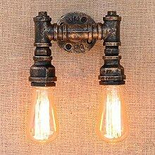 Retro Wandleuchte Industriell Vintage Leuchte Rohr