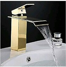 retro wasserhahn Deluxe Fauceting Gold Bad
