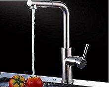 Retro Wasserhahn Küchenarmatur Edelstahl