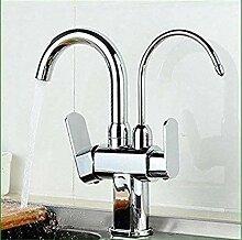 Retro Wasserhahn Küchenarmatur Vollverkupferung
