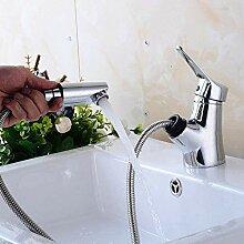 Retro Wasserhahn mit abnehmbarem Schlauch