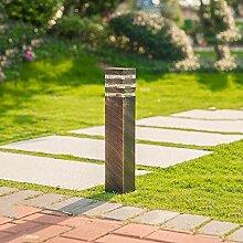 Retro Wegeleuchte Außen Outdoor Bronze
