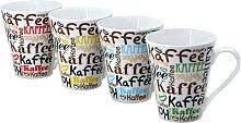 Retsch Arzberg Becher Kaffeescript (4-tlg.)