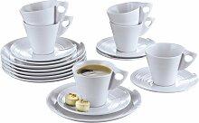 Retsch Arzberg Kaffeeservice Julie (18-tlg.),