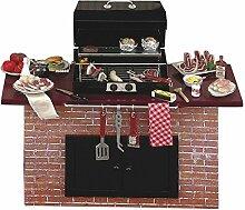 Reutter Porzellan Miniaturen - Grill Barbecuegrill
