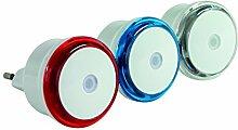 REV Ritter LED-Nachtlichter-Set, 3-Stück, farbig sortiert, 0029340002