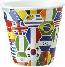 Revol Becher 646857 Cappuccino Knittereffekt,
