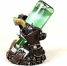 Revolver Modell Wein-Halter Dekorative Harz