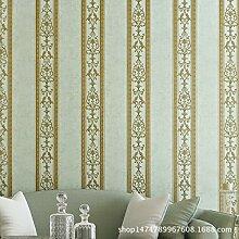 Reyqing 3D-Anaglyphenbild, Europäischen Stil Tapete, Schlafzimmer, Arbeitszimmer, Wohnzimmer Sofa, Hintergrundbild, Vertikale Streifen Tapete, Das Schwarze Gold, Tapeten Nur