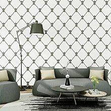 Reyqing 3D-Non-Woven, Wohnzimmer, Schlafzimmer, Tv Hintergrund, Wand, Tapete, Schwarze Und Weiße, Tapeten Nur
