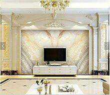 Reyqing 3D Stereoskopische Marmor Tapete Mit Tv Hintergrund Mauer, Nahtlose Deutsche Flannelette