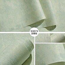 Reyqing Dunkelgrün Tuch Plain Schlafzimmer Wohnzimmer Hintergrund Tapete, Hellgrün Ss075 Upgrade Abschnitt, Tapeten Nur