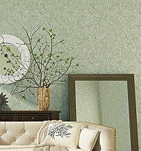 Reyqing Plain Woven Hintergrund Tapete, Grün,