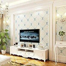 Reyqing Tv Hintergrundbild, Europäischen Wohnzimmer, Vliestapeten, 3D Dreidimensionale Relief, Modernen, Minimalistischen Schlafzimmer Tapete, 108 Yuan/Rolle. Etwas Kleber Kaufen, Tapeten Nur
