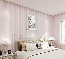 reyqing Vlies Stoff Field Wall Tapete, pink