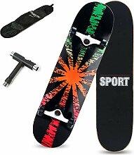 Rff Skateboard 31-Zoll-Profi Anfänger Erwachsene
