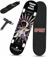 Rff Skateboard Profi Anfänger Erwachsene Jungen
