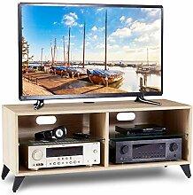 RFIVER TV Lowboard Schrank Tisch Fernsehtisch