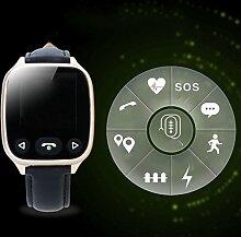 RFJJ Intelligente Uhr GPS Positionierung