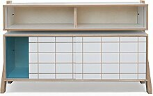 Rform Grand Buffet, Holz, blau, 40x 120x 50cm