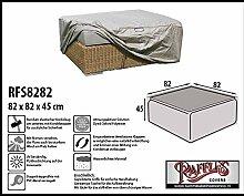 RFS8282 Schutzhülle für Lounge Tisch, Rattan Kaffeetisch, Geflecht Lounge Hocker, Fussteil oder Fussstütze Plane, abdeckhaube, abdeckung, hülle
