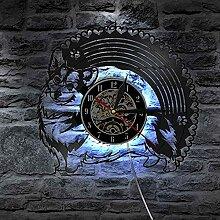 RFTGH Nähmaschine Quilten Werkzeuge Wandkunst Uhr