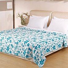 RFVBNM Quilt Baumwoll-Gaze-Tuch ist Baumwoll-Decke