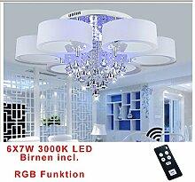 RGB Kristal LED Deckenlampe Wandlampe