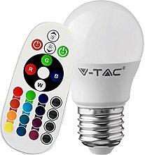 3er Set Farbwechsel Leuchtmittel RGB LED Party Lampen Effekt Beleuchtungen E27
