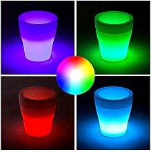 RGB LED Blumentopf & Eiswürfelbehälter