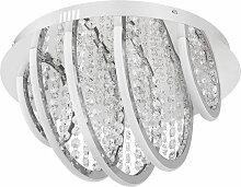 RGB LED Decken Lampe rund Acryl dimmbar Ess Schlaf