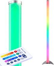 RGB LED Steh Leuchte Fernbedienung Stand Lampe