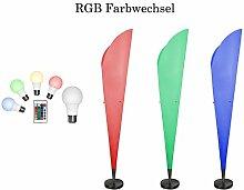 RGB LED Stehleuchte Hölscher Leuchten 090220