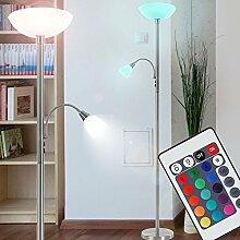 RGB LED Watt Decken Fluter Farbwechsel Steh Stand